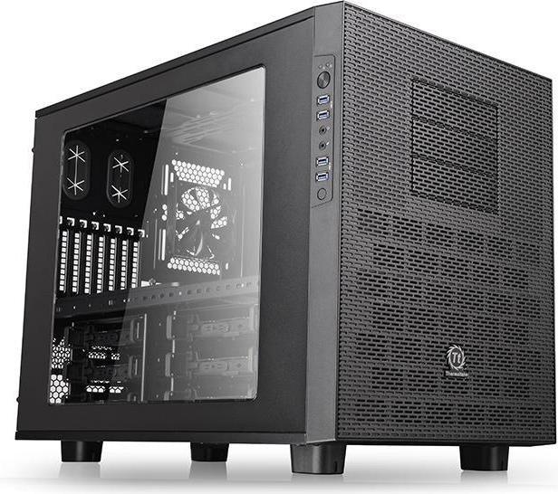 Thermaltake Core X9 black, acrylic window (CA-1D8-00F1WN-00)