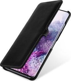 Stilgut Book Type Leather Case Clip Nappa für Samsung Galaxy S20+ schwarz (B085S1NCNB)