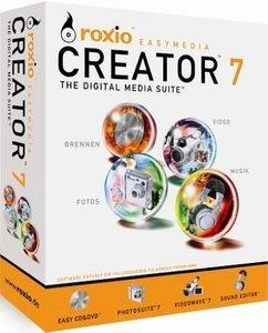Roxio: Easy Media Creator 7.0 (PC) (213100DE)