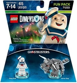 LEGO: Dimensions - Fun Pack: Ghostbusters: Stay Puft & Terror Dog (PS3/PS4/Xbox One/Xbox 360/WiiU)