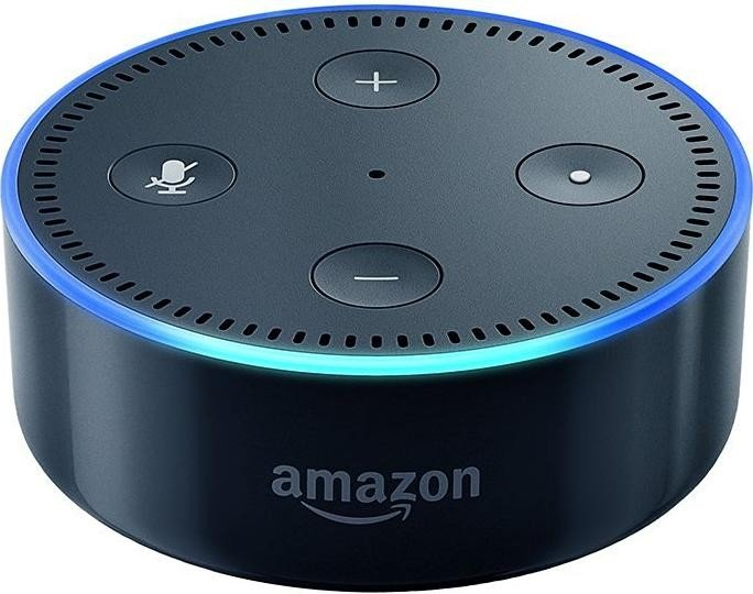 Amazon Echo Dot (Rev. 2), Zentrale schwarz
