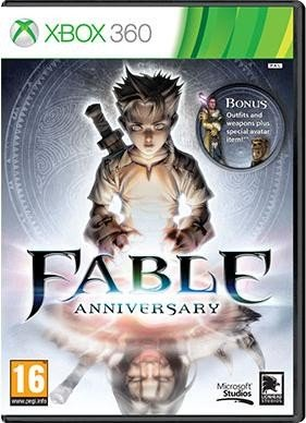 Saturn Xbox Fable Anniversary
