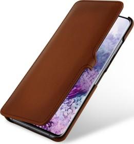 Stilgut Book Type Leather Case Clip für Samsung Galaxy S20+ braun (B085S1J92H)