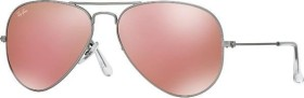 Ray-Ban RB3025 Aviator Flash Lenses 58mm silver/copper flash (019/Z2)