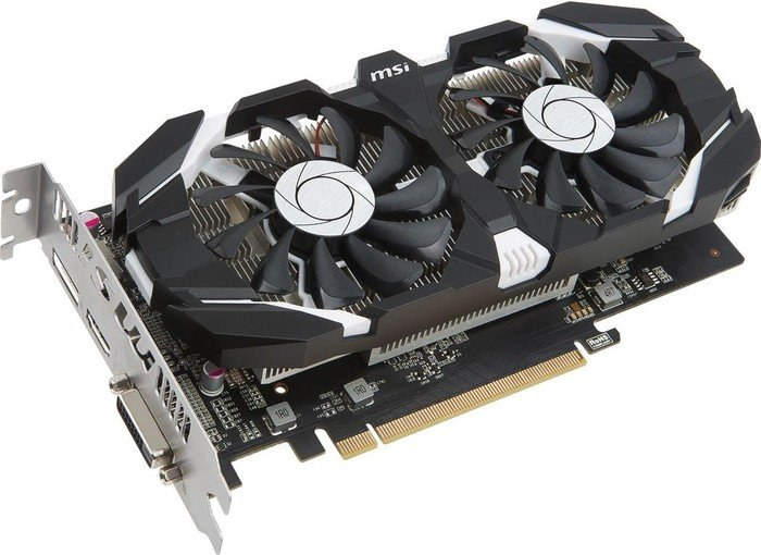 MSI GeForce GTX 1050 Ti 4GT OC, 4GB GDDR5, DVI, HDMI, DP (V809-2277R)