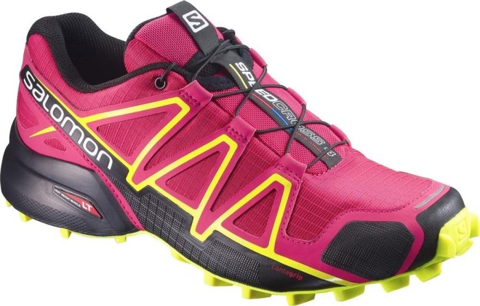 Salomon Damen Speedcross 4 W Traillaufschuhe, Violett (Spectrum Blue/Sulphur Spring/Fiery), 39 1/3 EU (6 UK)