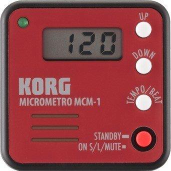 Korg MICROMETRO MCM-1 Micro Digital-Metronom rot