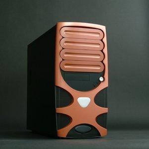 Chenbro PC61166 Gaming System Orange (versch. Netzteile) -- © CWsoft