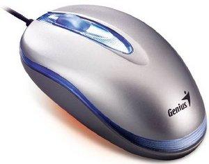 Genius NetScroll+ mini Traveler Iris Silver, PS/2 & USB