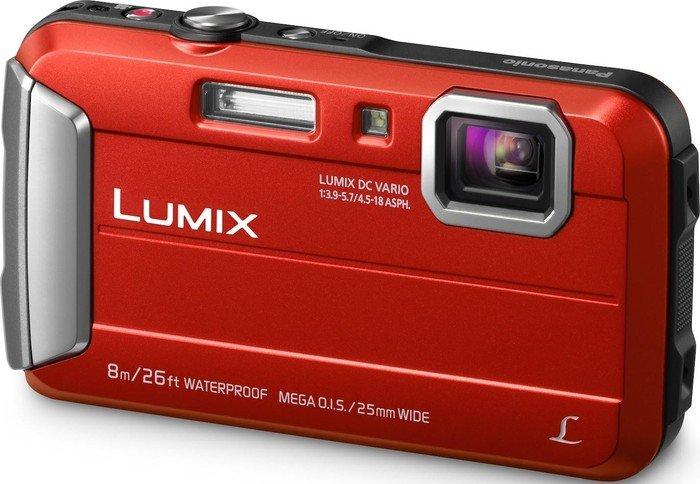 Panasonic Lumix DMC-FT30 red