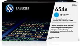HP Toner 654A cyan (CF331A)