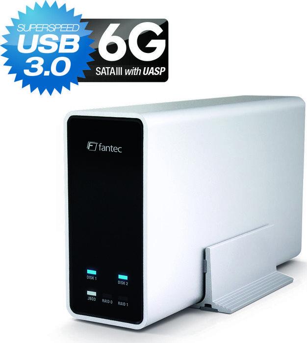 Fantec mobiRAID X2 SSD 500GB, USB 3.0 Micro-B (178610)