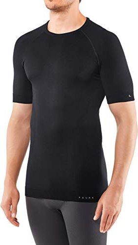 Falke Maximum Warm Shirt kurzarm schwarz (Herren) -- via Amazon Partnerprogramm