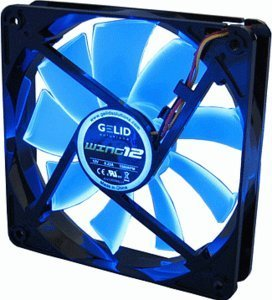 Gelid Solutions Wing 12 UV Blue, 120mm (FN-FW12-15-B)