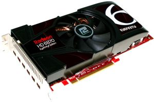 PowerColor Radeon HD 6870 Eyefinity 6 Edition, 2GB GDDR5, 6x Mini DisplayPort (AX6870 2GBD5-6DG)