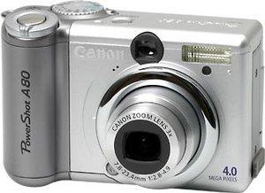Canon PowerShot A80 (różne zestawy)