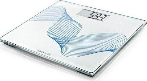 Soehnle Style Sense Compact 300 Elektronische Personenwaage weiß/blau (63847) -- via Amazon Partnerprogramm
