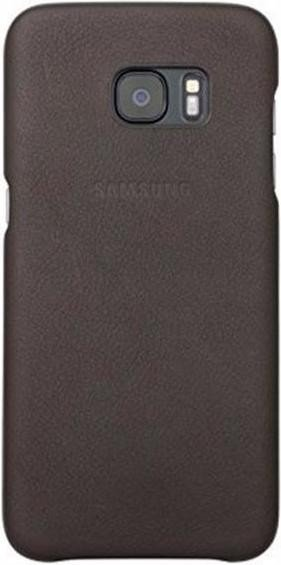 newest 3962b 350d4 Samsung Leather Cover for Galaxy S7 Edge brown (EF-VG935LDEGWW)