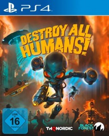 Destroy all Humans! - DNA Collector's Edition (PS4)