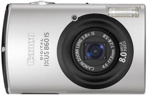Canon Digital Ixus 860 IS black (2087B007)