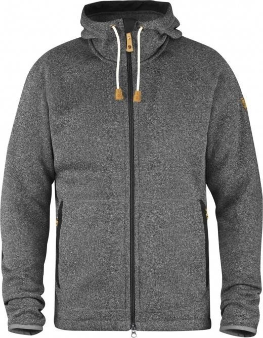 Fjällräven Övik Fleece Hoodie Jacket dark grey (men) (F82252-030)