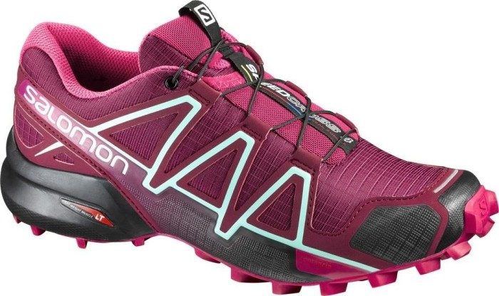 Salomon Speedcross 4 Damen Traillaufschuhe, Tibetan Red/Sangria/Black, 37 1/3 EU