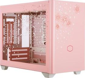 Cooler Master MasterBox NR200P Sakura Limited Edition, pink, glass window, Mini-ITX (MCB-NR200P-WGNN-SJP)