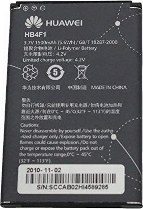 Huawei HB4F1 rechargeable battery -- via Amazon Partnerprogramm