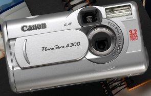 Canon PowerShot A300 (różne zestawy)