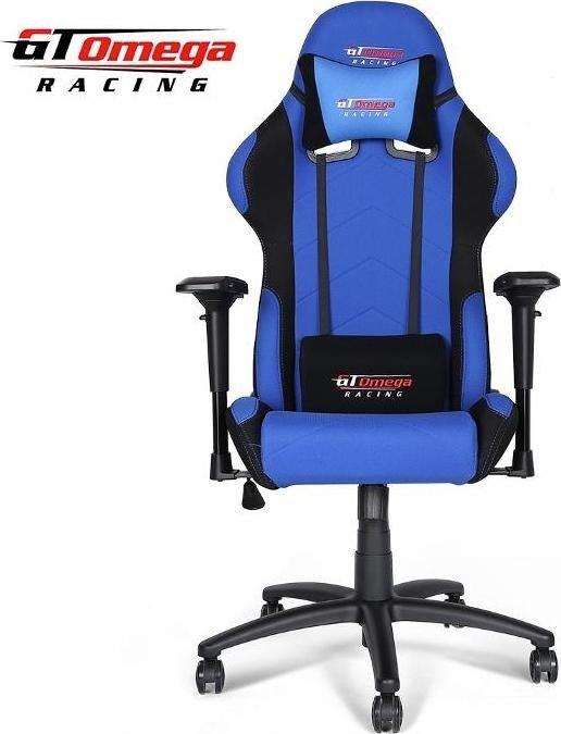 GT Omega Racing Pro Gamingstuhl, blau/schwarz (OC-F002)