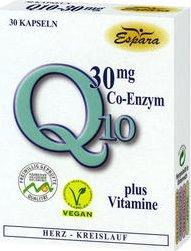 Espara Eco-Zym Q10 30mg Kapseln, 30 Stück