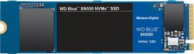 Western Digital WD Blue SN550 NVMe SSD 500GB, M.2 (WDS500G2B0C)