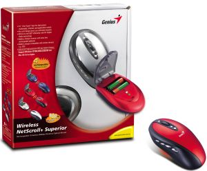 Genius Wireless NetScroll+ Superior, USB