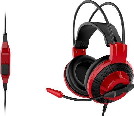 MSI DS501 schwarz/rot