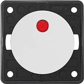 Berker Integro FLOW Kontroll-Ausschalter 2-polig 12V, polarweiß glänzend (937622539)