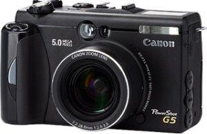 Canon PowerShot G5 (różne zestawy)