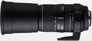 Sigma AF 170-500mm 5.0-6.3 Asp APO RF do Nikon F czarny (733944)