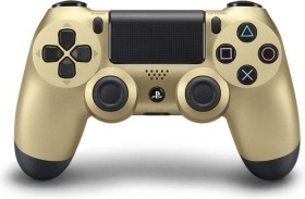Sony DualShock 4 Controller wireless gold (PS4)
