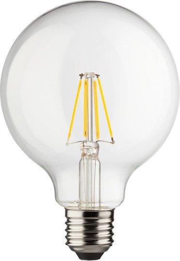 Müller Licht Filament LED Globe Retro E27 8W warmweiß klar (400202)