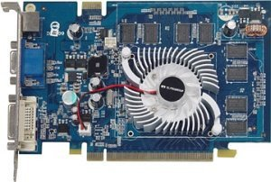 Elitegroup N8600GT-512DZ, GeForce 8600 GT,  512MB DDR2, VGA, DVI, TV-out, PCIe