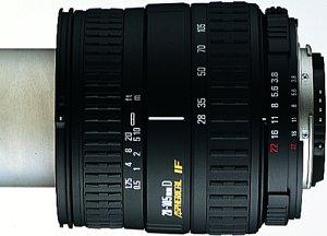 Sigma AF 28-105mm 3.8-5.6 UC-III Asp IF do Nikon F czarny (663944)