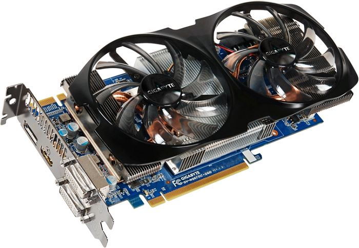 Gigabyte GeForce GTX 660 Ti Windforce 2X OC Borderlands 2, 2GB GDDR5, 2x DVI, HDMI, DisplayPort (GV-N66TOC-2GD-EU)