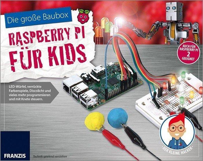 Franzis Die große Baubox - Raspberry Pi für Kids