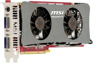 MSI N260GTX-T2D896-OC Twin Frozr, GeForce GTX 260, 896MB DDR3, 2x DVI, wyjście TV(V177-002R)