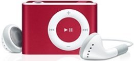 Apple iPod  shuffle (PRODUCT) RED 2GB rot (2G) (MB524*/A) (02/2008)