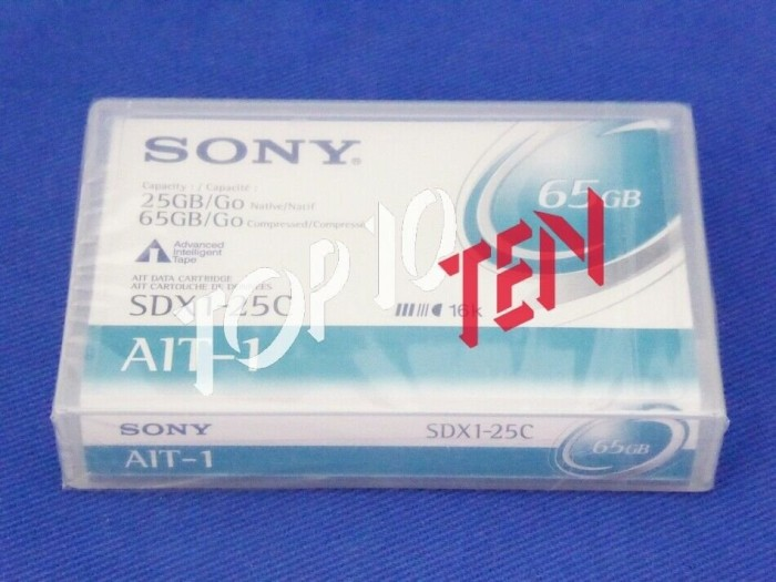 Sony SDX1-25C AIT-1 Cartridge 65GB/25GB -- via Amazon Partnerprogramm