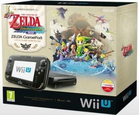 Nintendo Wii U Premium Pack - 32GB The Legend of Zelda: The Wind Waker HD Edition Bundle schwarz