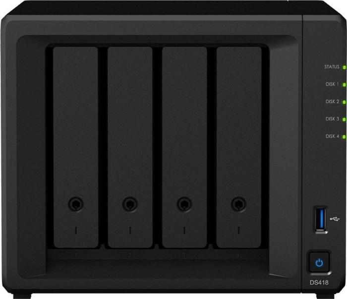 Synology DiskStation DS418, 2x Gb LAN