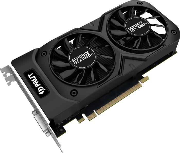 Palit GeForce GTX 1050 Ti Dual OC, 4GB GDDR5, DVI, HDMI, DP (NE5105TS18G1D)