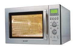 Sharp R-93ST microwave with grill/hot air